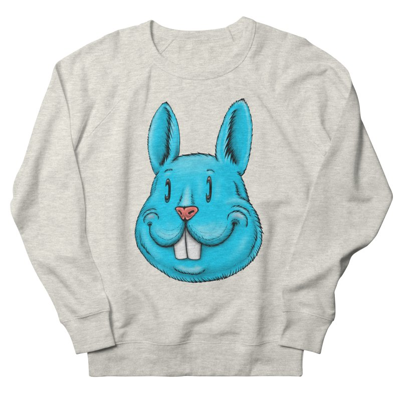Bunny Women's French Terry Sweatshirt by Stiky Shop