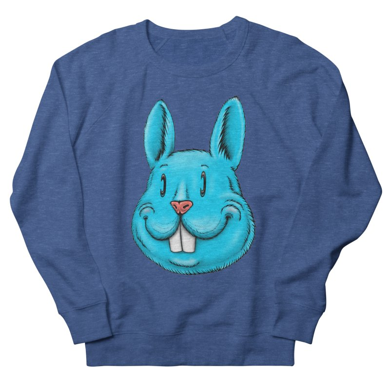 Bunny Men's French Terry Sweatshirt by IDC Art House