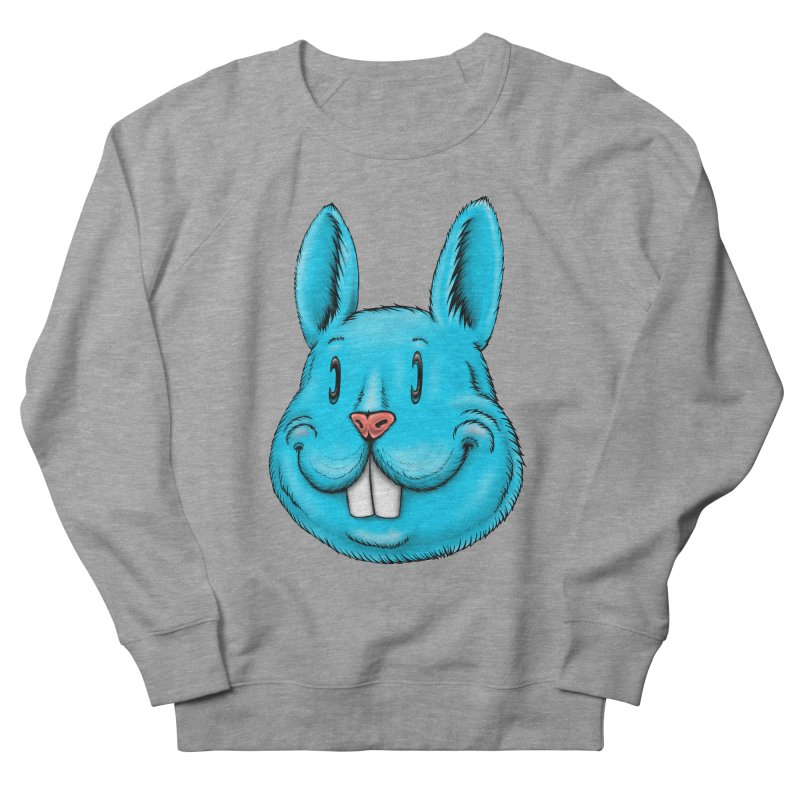 Bunny Men's French Terry Sweatshirt by Stiky Shop
