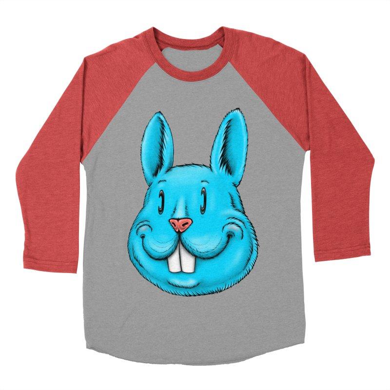 Bunny Women's Baseball Triblend Longsleeve T-Shirt by IDC Art House