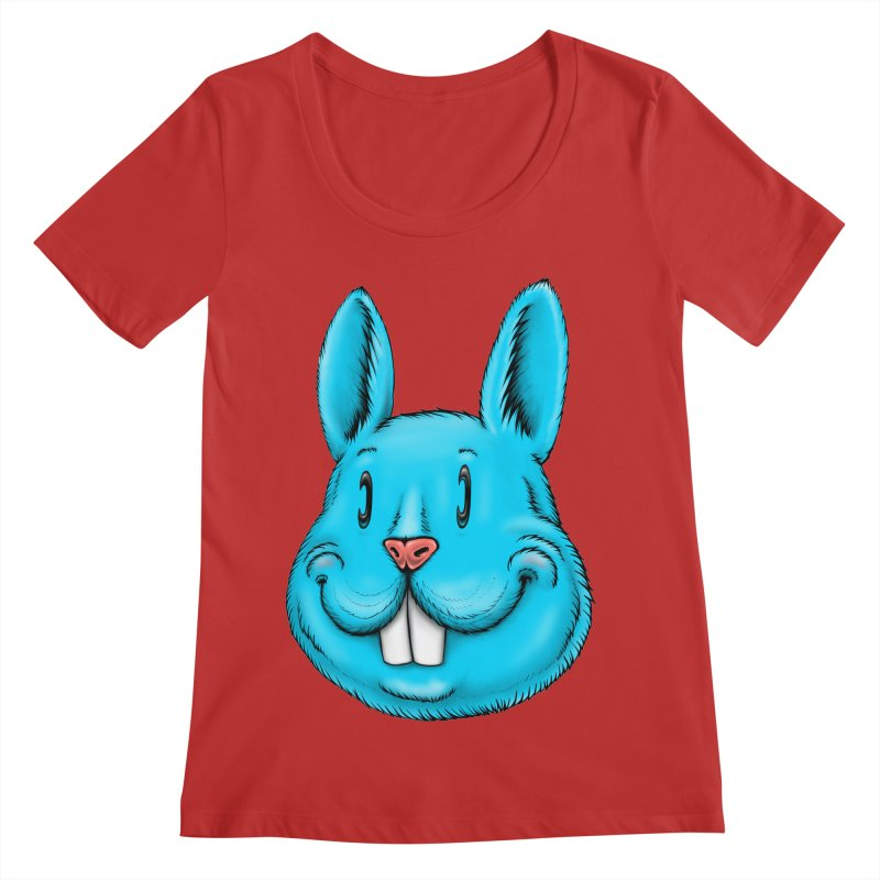 Bunny Women's Regular Scoop Neck by Stiky Shop