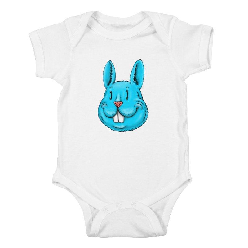 Bunny Kids Baby Bodysuit by IDC Art House