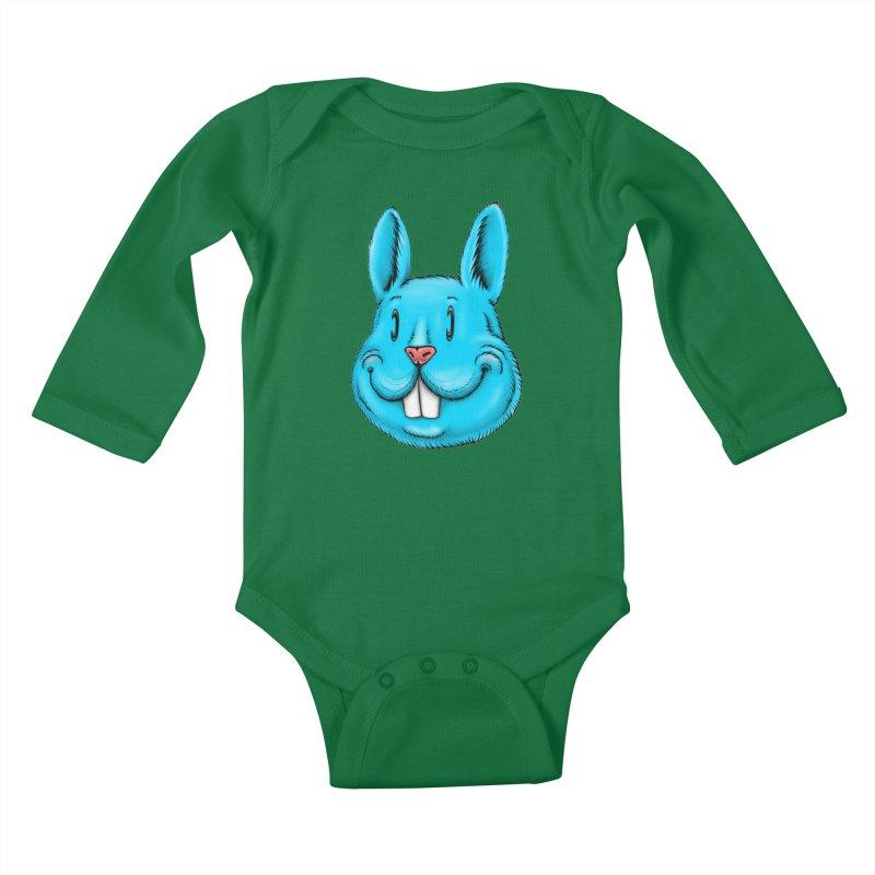 Bunny Kids Baby Longsleeve Bodysuit by Stiky Shop