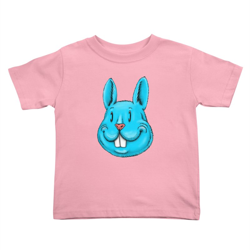 Bunny Kids Toddler T-Shirt by IDC Art House