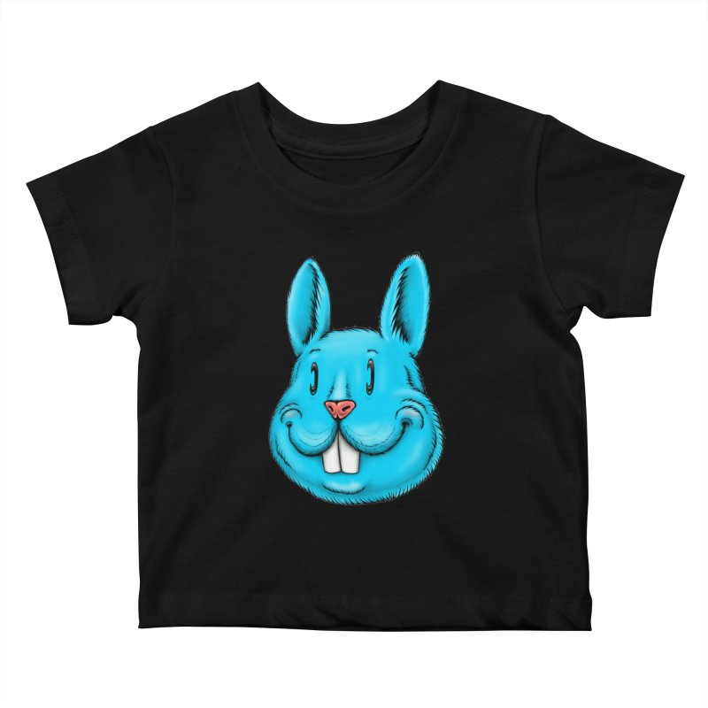 Bunny Kids Baby T-Shirt by IDC Art House