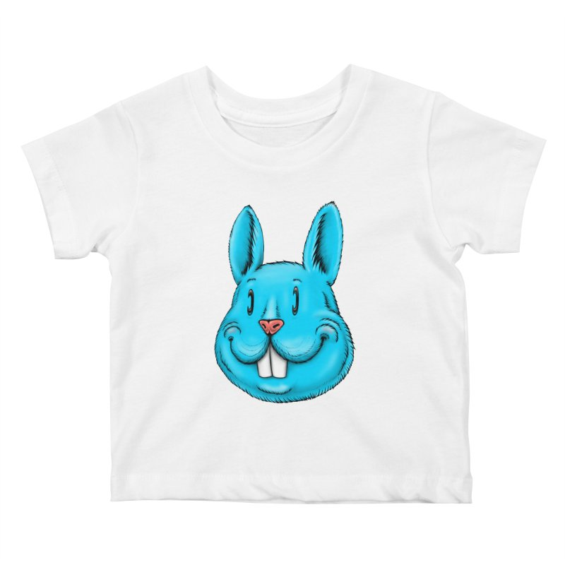 Bunny Kids Baby T-Shirt by Stiky Shop