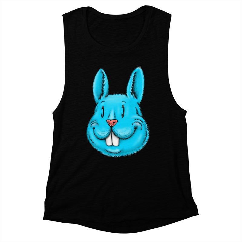 Bunny Women's Muscle Tank by Stiky Shop