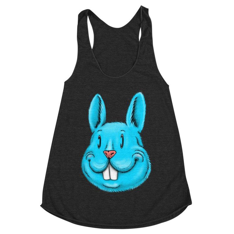 Bunny Women's Racerback Triblend Tank by Stiky Shop