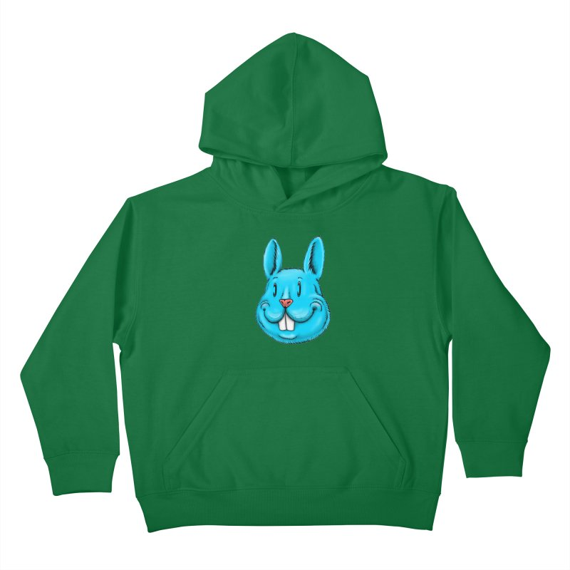 Bunny Kids Pullover Hoody by IDC Art House