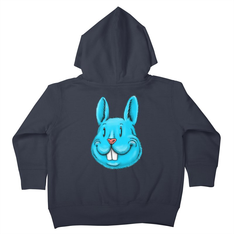 Bunny Kids Toddler Zip-Up Hoody by IDC Art House
