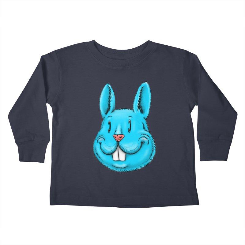 Bunny Kids Toddler Longsleeve T-Shirt by Stiky Shop
