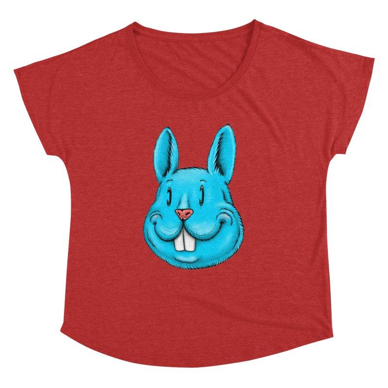 Bunny Women's Dolman Scoop Neck by IDC Art House