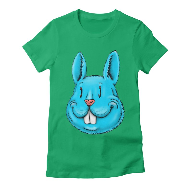 Bunny Women's Fitted T-Shirt by Stiky Shop