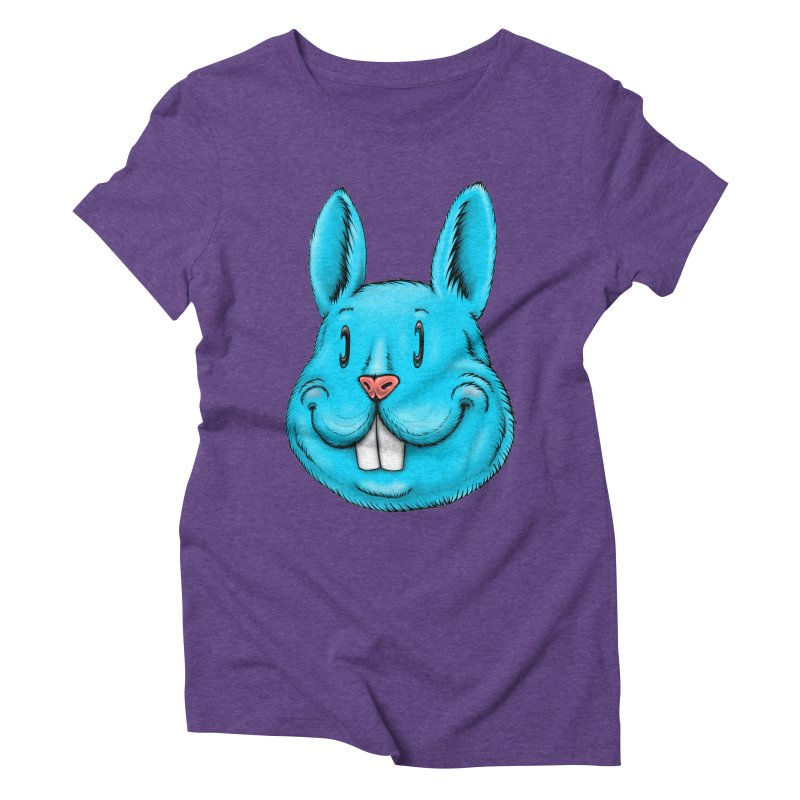 Bunny Women's Triblend T-Shirt by Stiky Shop