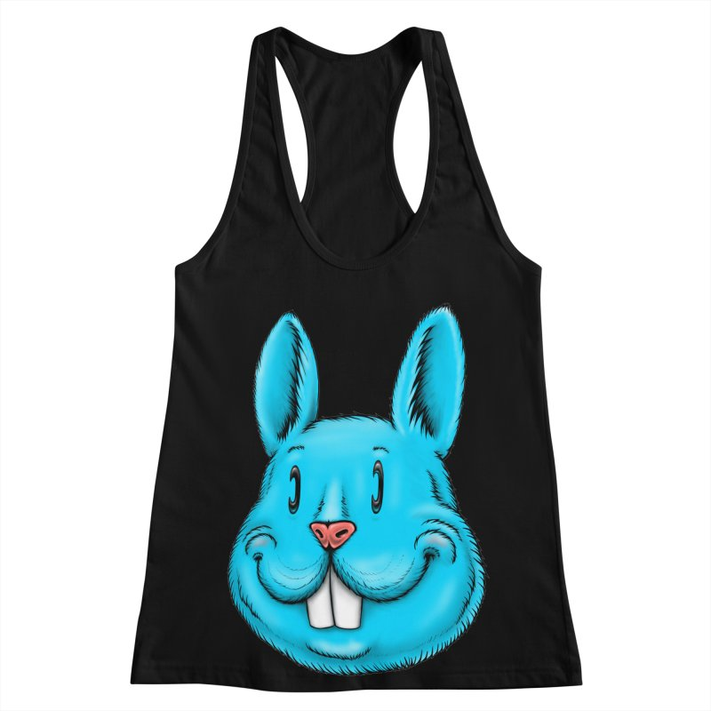 Bunny Women's Racerback Tank by Stiky Shop