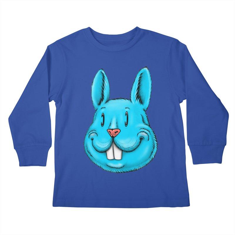 Bunny Kids Longsleeve T-Shirt by IDC Art House