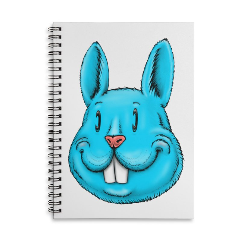 Bunny Accessories Lined Spiral Notebook by Stiky Shop