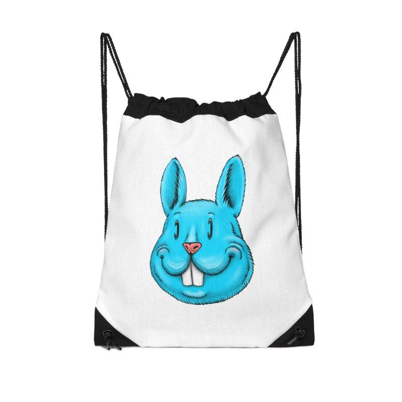 Bunny Accessories Drawstring Bag Bag by Stiky Shop
