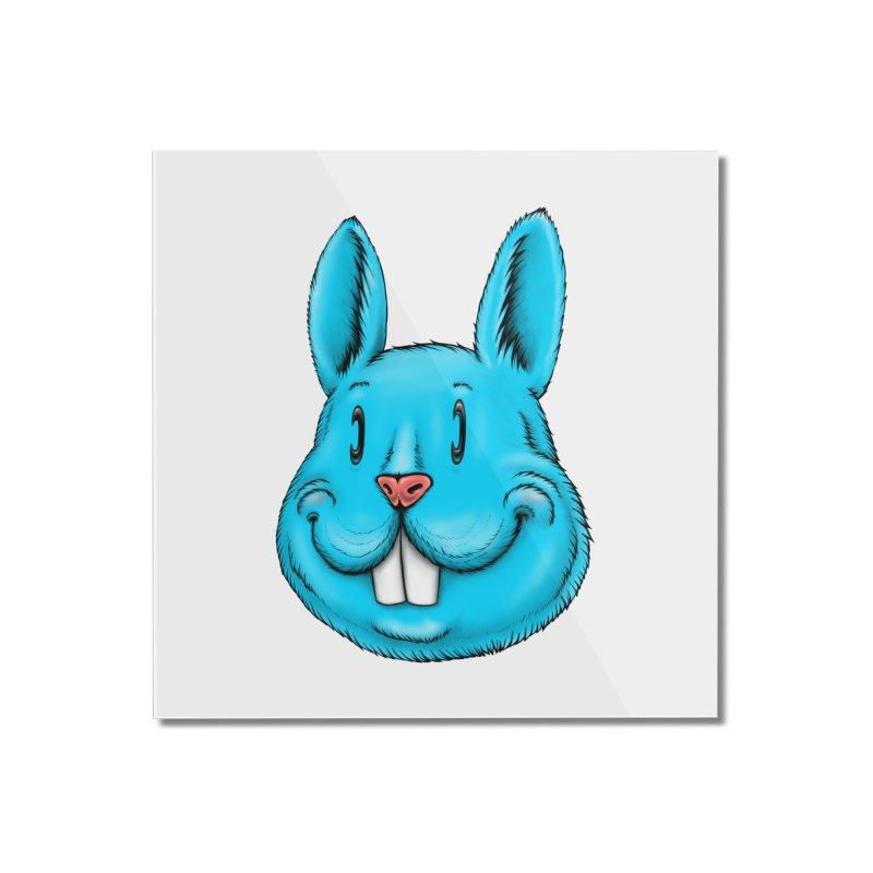 Bunny Home Mounted Acrylic Print by Stiky Shop
