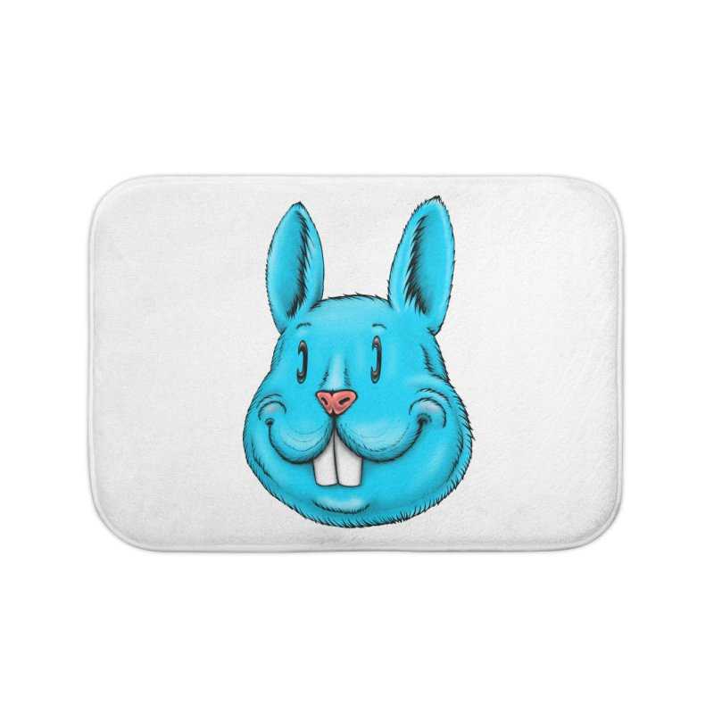 Bunny Home Bath Mat by Stiky Shop