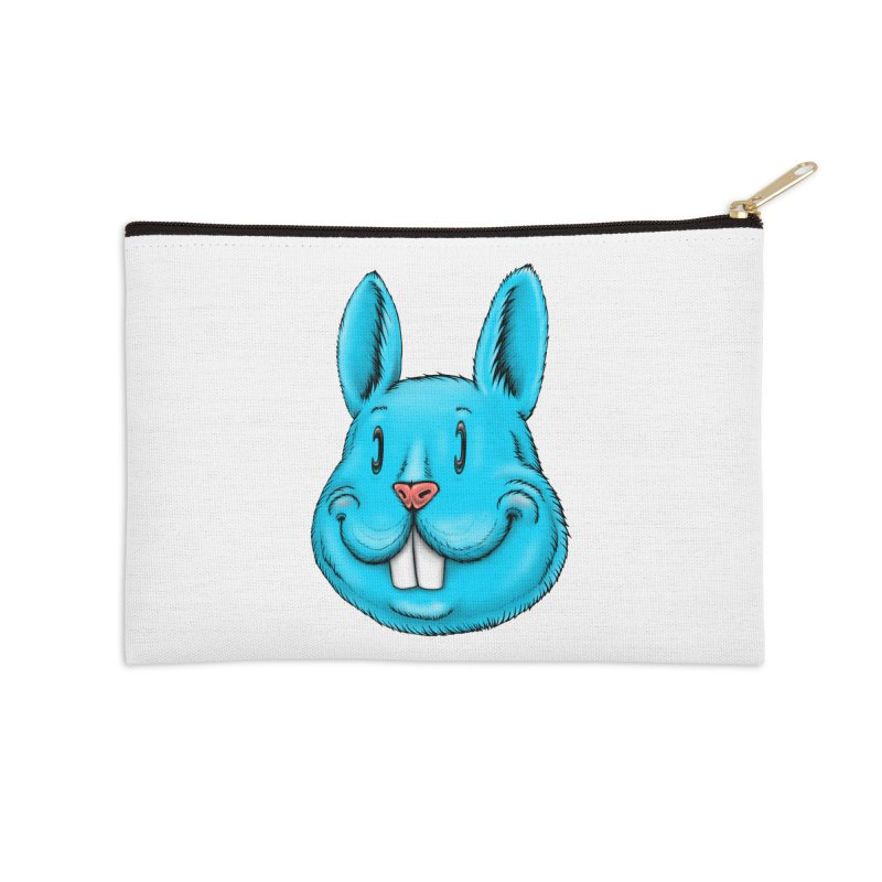 Bunny Accessories Zip Pouch by Stiky Shop