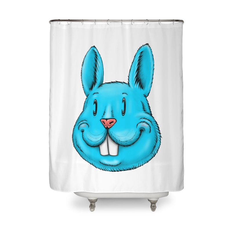 Bunny Home Shower Curtain by Stiky Shop