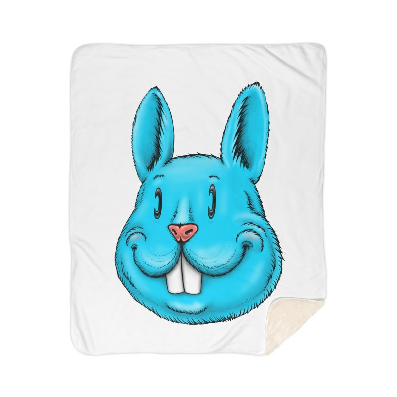 Bunny Home Sherpa Blanket Blanket by Stiky Shop