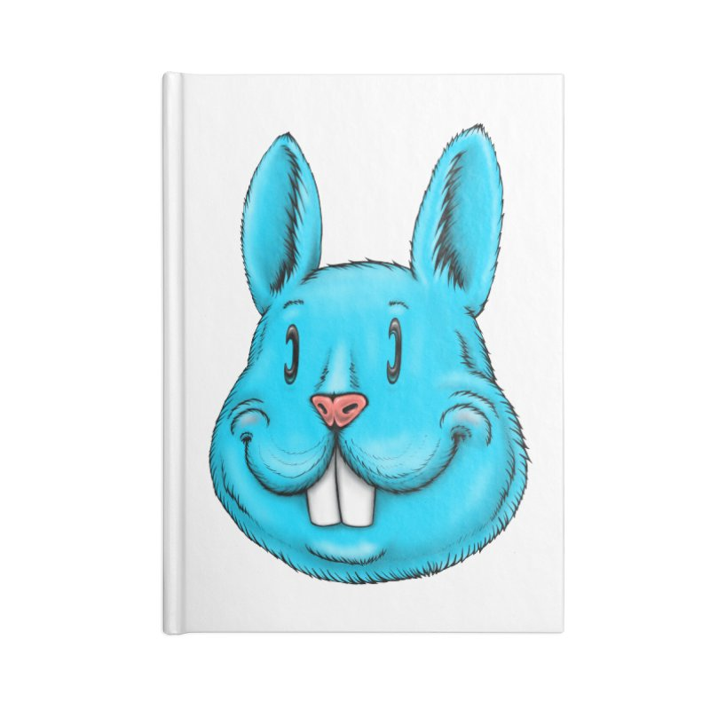Bunny Accessories Lined Journal Notebook by Stiky Shop