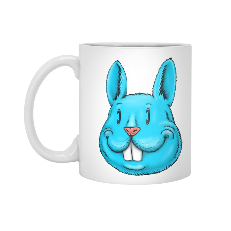 Bunny Accessories Mug by IDC Art House