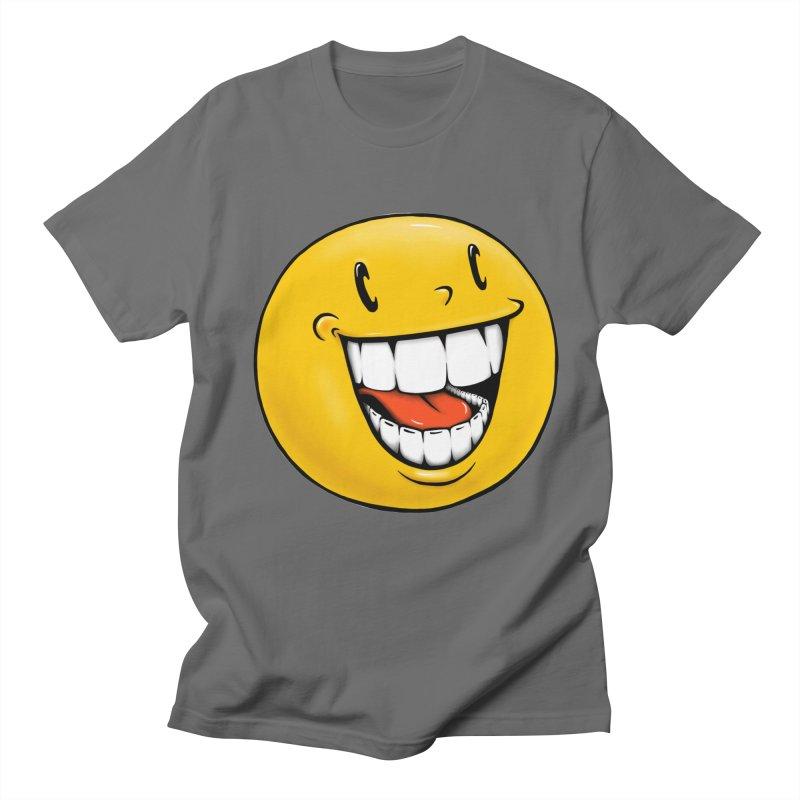 Smiley Emoji Men's T-Shirt by Stiky Shop