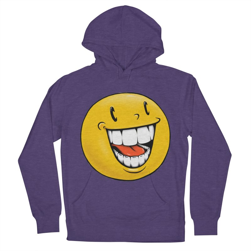 Smiley Emoji Women's French Terry Pullover Hoody by Stiky Shop