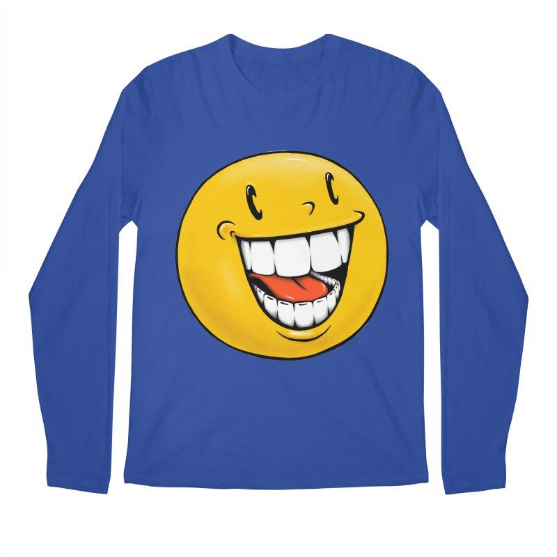 Smiley Emoji Men's Regular Longsleeve T-Shirt by Stiky Shop