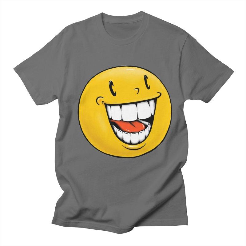 Smiley Emoji Women's Regular Unisex T-Shirt by IDC Art House