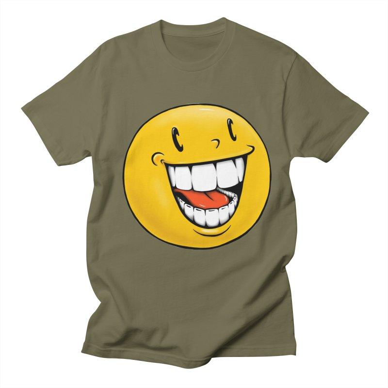 Smiley Emoji Men's Regular T-Shirt by IDC Art House