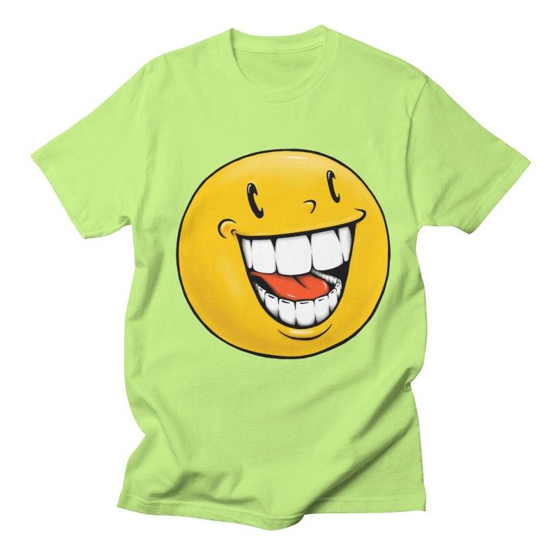 Smiley Emoji Men's Regular T-Shirt by Stiky Shop