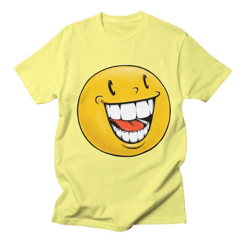 Smiley Emoji Women's Regular Unisex T-Shirt by Stiky Shop