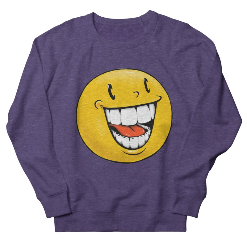 Smiley Emoji Women's French Terry Sweatshirt by Stiky Shop