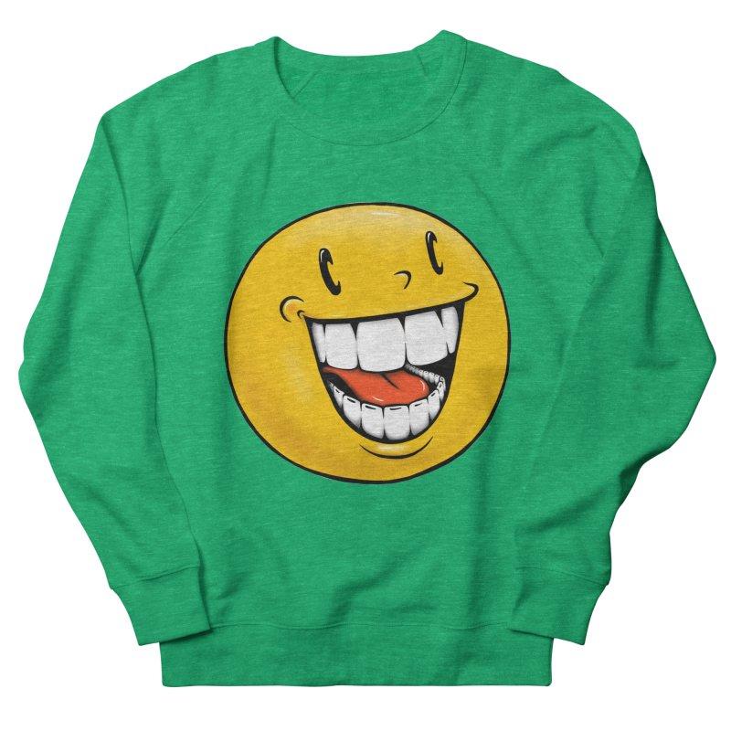 Smiley Emoji Men's French Terry Sweatshirt by IDC Art House