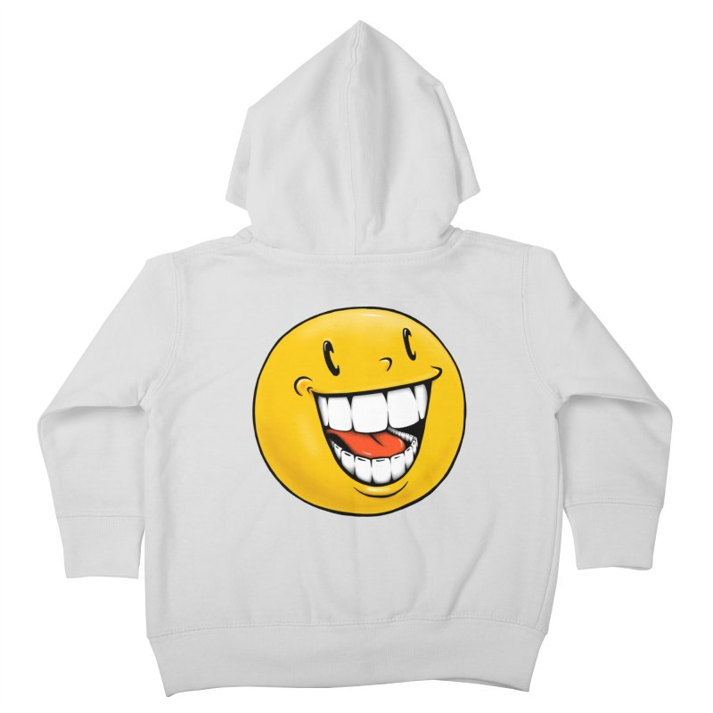 Smiley Emoji Kids Toddler Zip-Up Hoody by Stiky Shop