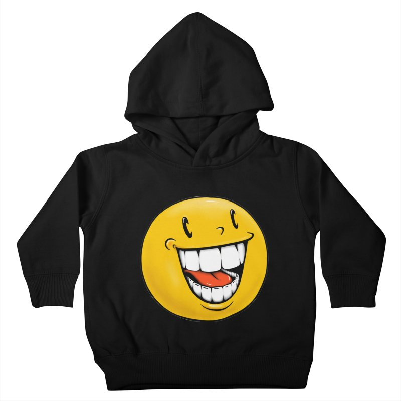 Smiley Emoji Kids Toddler Pullover Hoody by Stiky Shop