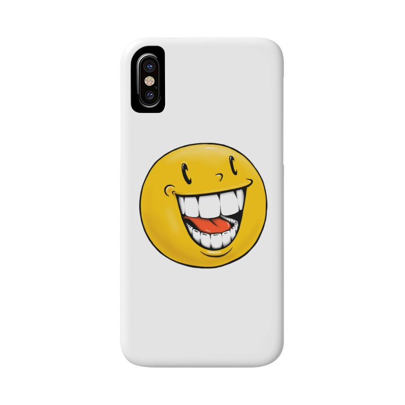 Smiley Emoji Accessories Phone Case by IDC Art House