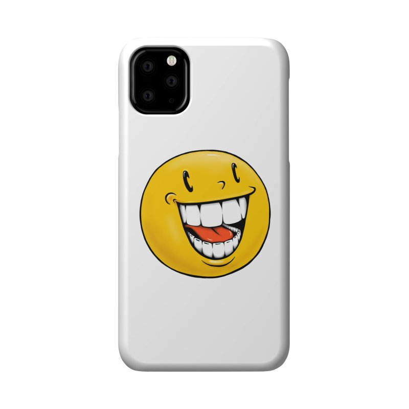 Smiley Emoji Accessories Phone Case by Stiky Shop