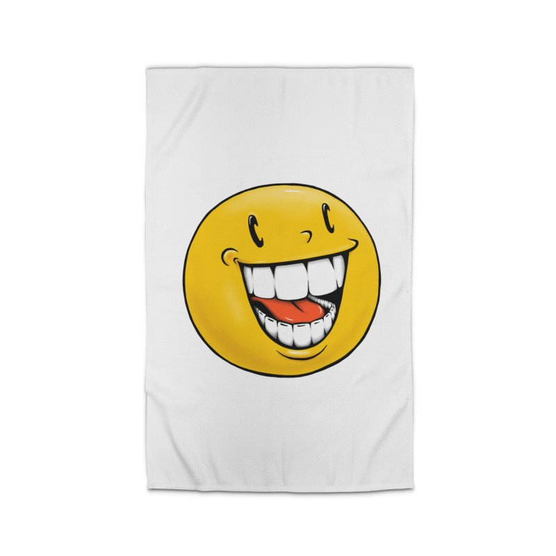 Smiley Emoji Home Rug by IDC Art House