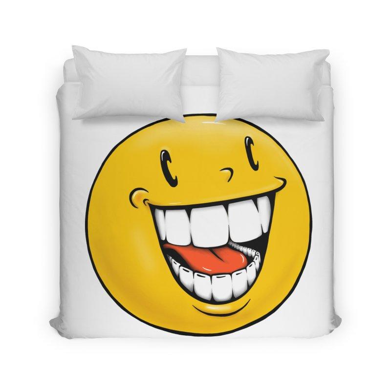 Smiley Emoji Home Duvet by Stiky Shop