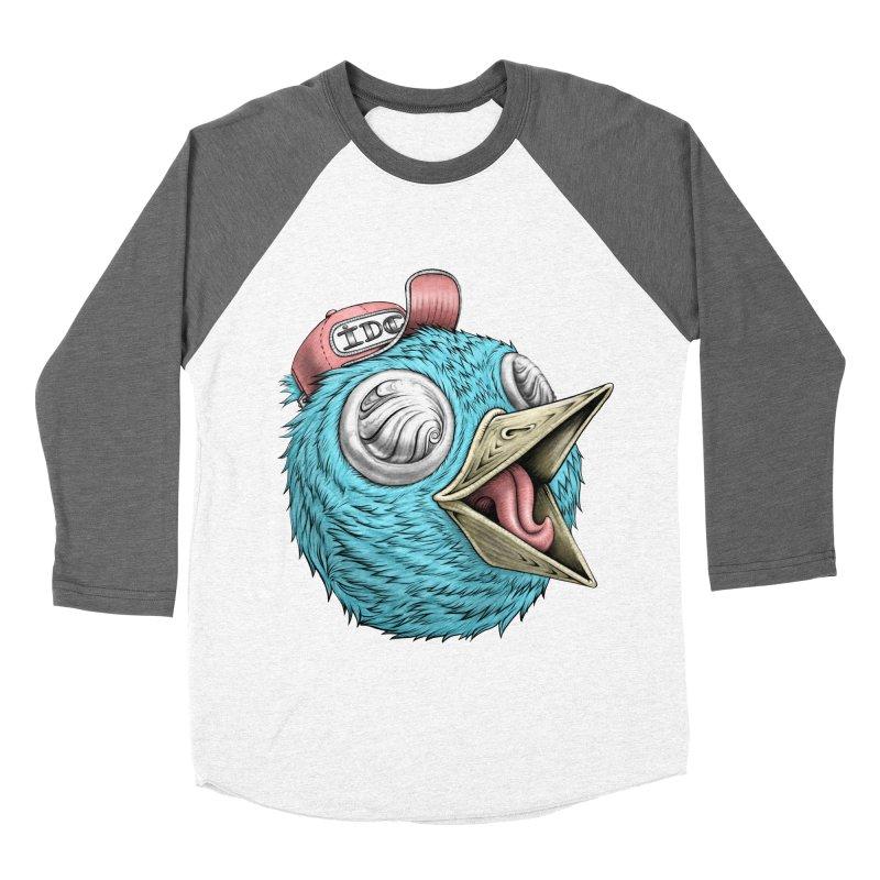 Individuals Defining Creativity Women's Baseball Triblend Longsleeve T-Shirt by IDC Art House