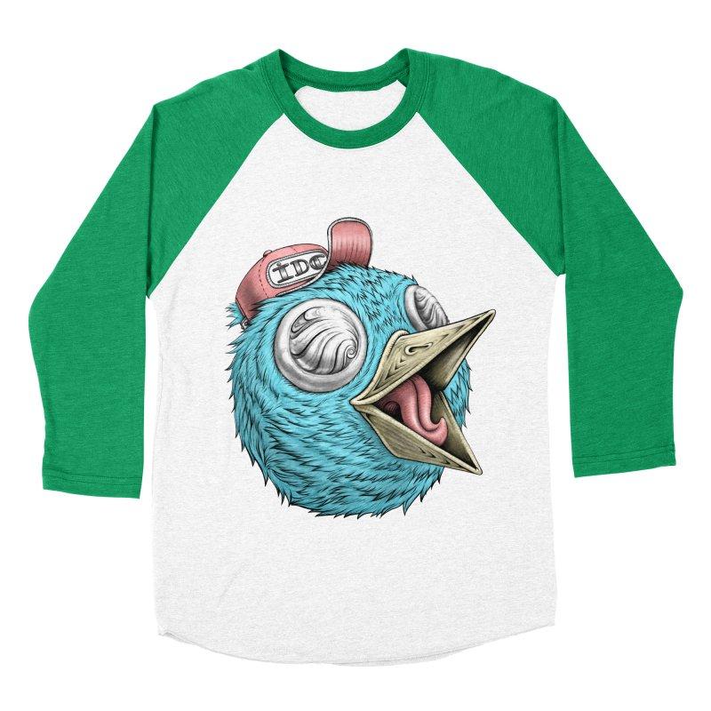 Individuals Defining Creativity Men's Baseball Triblend Longsleeve T-Shirt by IDC Art House