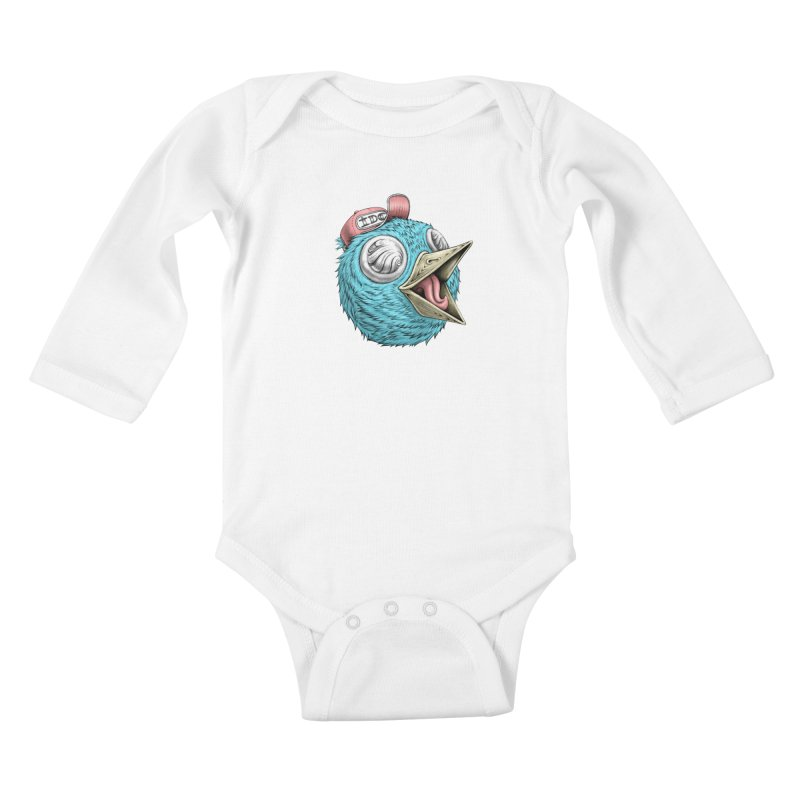 Individuals Defining Creativity Kids Baby Longsleeve Bodysuit by Stiky Shop