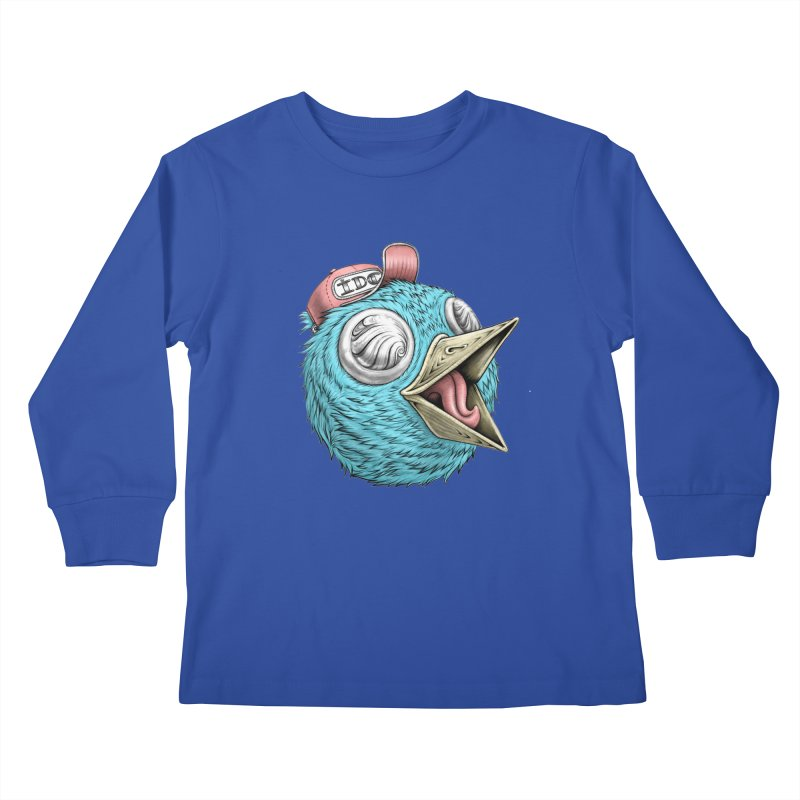 Individuals Defining Creativity Kids Longsleeve T-Shirt by Stiky Shop