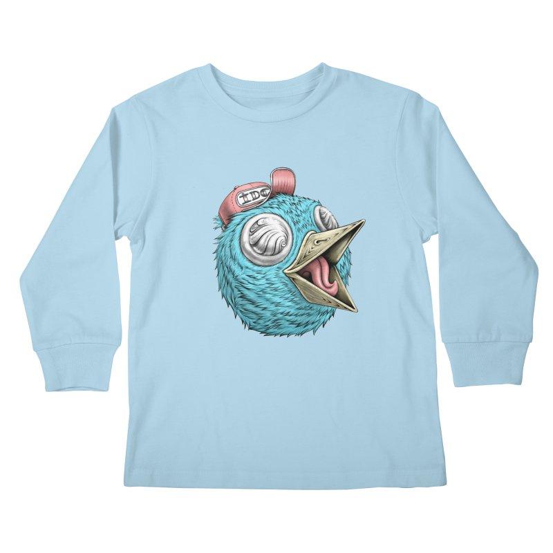Individuals Defining Creativity Kids Longsleeve T-Shirt by IDC Art House