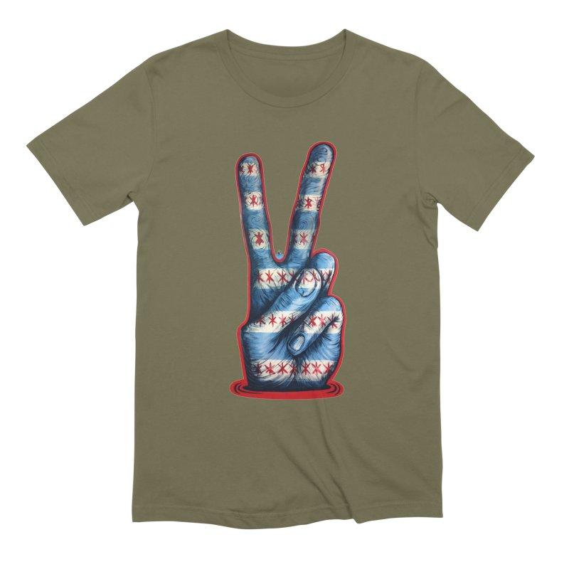 Vote for Peace Men's Extra Soft T-Shirt by Stiky Shop